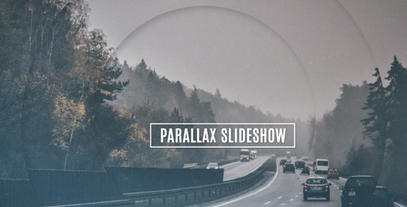 Parallax Slideshow After Effectsテンプレート