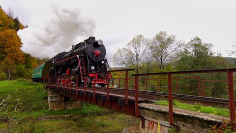 Old Steam Train Footage
