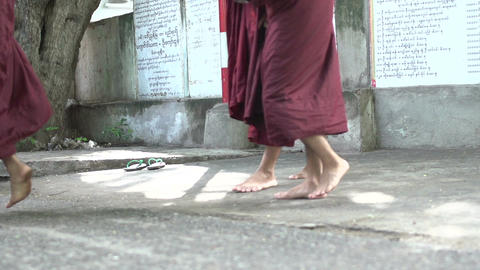 Myanmar Mandalay 0125 Footage