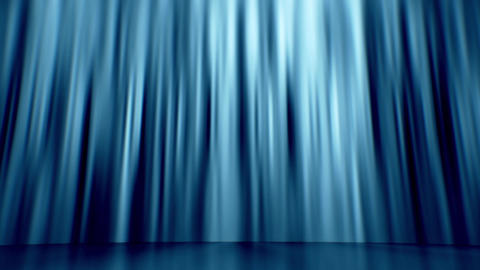 Blue Curtain Background Loop Stock Video Footage