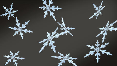 snowflakes christmas background black white Animation