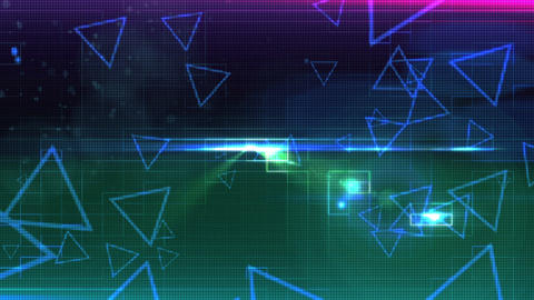 Abstract Background Cut CG動画素材