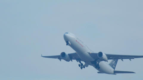 Airbus 330 Taking Off stock footage