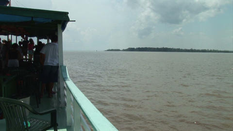 Brazil: travel on Amazon river 7 Stock Video Footage