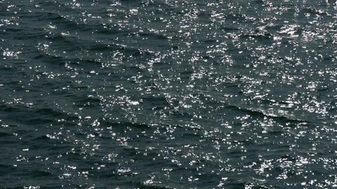 Sparkling Water surface Stock Video Footage