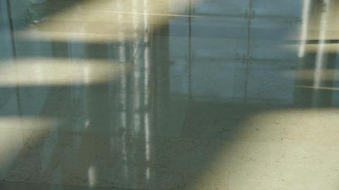 Marble floor at Luxury... Stock Video Footage