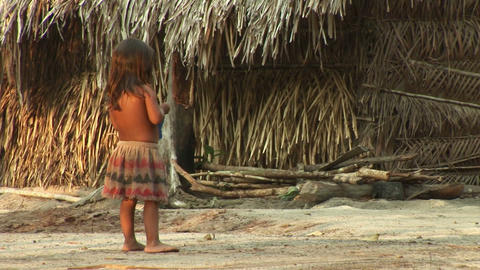 Brazil: people of Amazon river region 3 Stock Video Footage