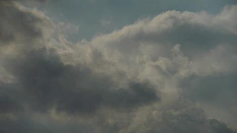 Spectacular clouds cover sky,Altocumulus,dusk Footage