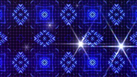 LED Light Kaleidoscope ST B4F HD Stock Video Footage