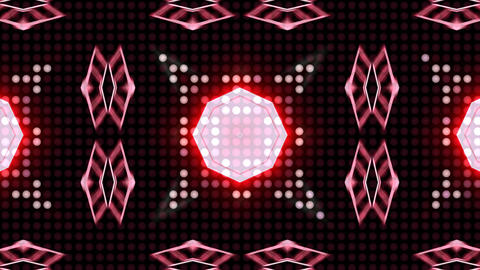 LED Light Kaleidoscope ST C1 HD Stock Video Footage