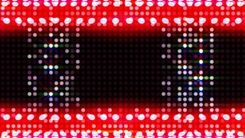 LED Light Kaleidoscope ST C3s HD Stock Video Footage