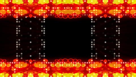 LED Light Kaleidoscope ST D3s HD Stock Video Footage