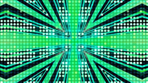 LED Light Kaleidoscope ST A2 HD Stock Video Footage