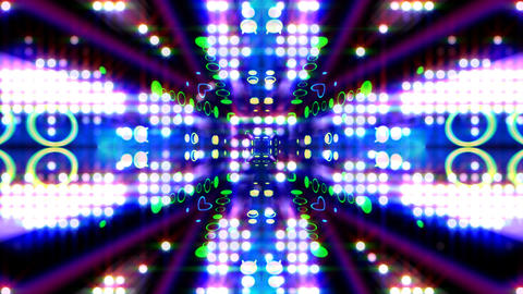 LED Light Kaleidoscope ST E2 HD Animation