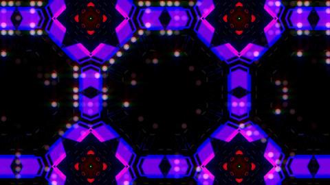 LED Light Kaleidoscope ST E3 HD Stock Video Footage