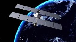 宇宙衛星 Animation