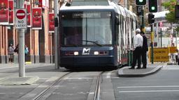 Haymarket Sydney Market City Hay Street 05 tram Footage