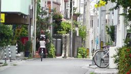 Rural Town in Okinawa Islands 23 street Stock Video Footage