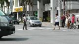 Rural Town Traffic in Okinawa Islands 08 Footage