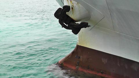 Ship Loadline 02 Stock Video Footage