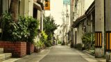 Street in Okinawa Islands stylized 04 Footage