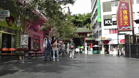 Sydney Chinatown 01 Stock Video Footage