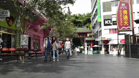 Sydney Chinatown 01 Footage