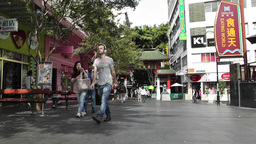 Sydney Chinatown 01 Stock Video Footage