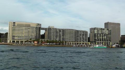 Sydney Circular Quay Port 05 Stock Video Footage