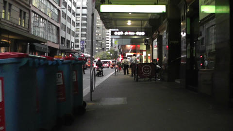 Sydney Downtown 03 60fps native slowmotion handheld Footage