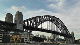 Sydney Harbour Bridge 04 Stock Video Footage