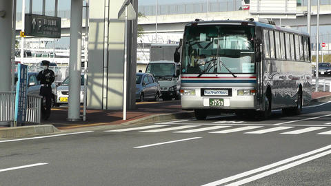 Tokyo Narita Airport 02 Stock Video Footage