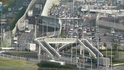 Tokyo Narita Airport 08 parking lot Footage