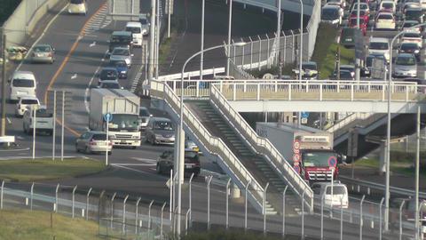 Tokyo Narita Airport 12 traffic Stock Video Footage
