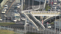 Tokyo Narita Airport 12 traffic Stock Video Footage