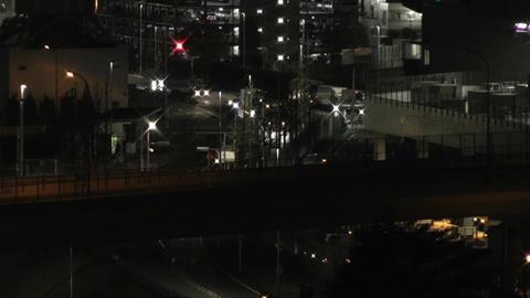 Tokyo Narita Airport at Night 12 Footage