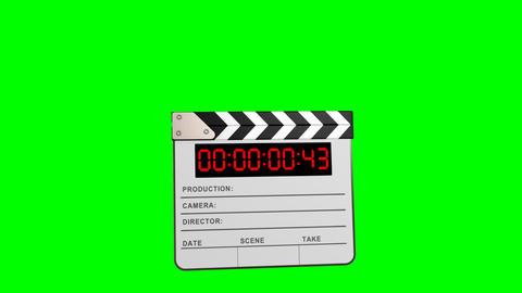 Clapper board Stock Video Footage