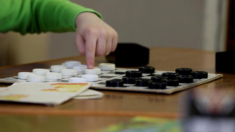 checkers Stock Video Footage