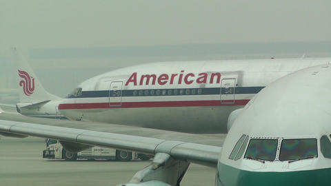 Beijing Capital International Airport 06 american handheld Footage