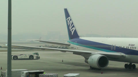 Beijing Capital International Airport 08 ana handheld Footage