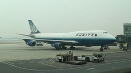 Beijing Capital International Airport 10 united Footage