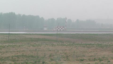 Beijing Capital International Airport 21 on the runway... Stock Video Footage