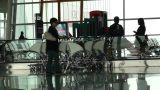 Beijing Capital International Airport Terminal Waiting Hall 02 passengers Footage