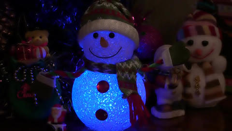 Christmas New Year Background 4 stock footage