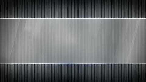 grey stripes and blank banner seamless loop 4k (4096x2304) Animation