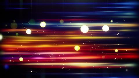 blurred horizontal lines and bokeh loop 4k (4096x2304) Animation