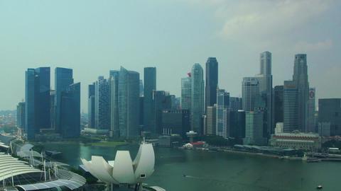 Panorama of Singapore Footage