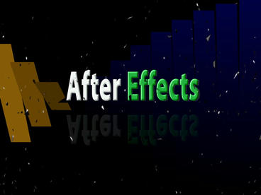 After Effects (no plugins) After Effects Project