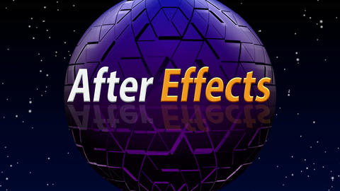 After effects (pixel globe background) After Effects Template