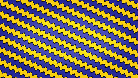 Yellow Blue Arrows Lines Zigzag Animation Seamless Looped Texture Animation